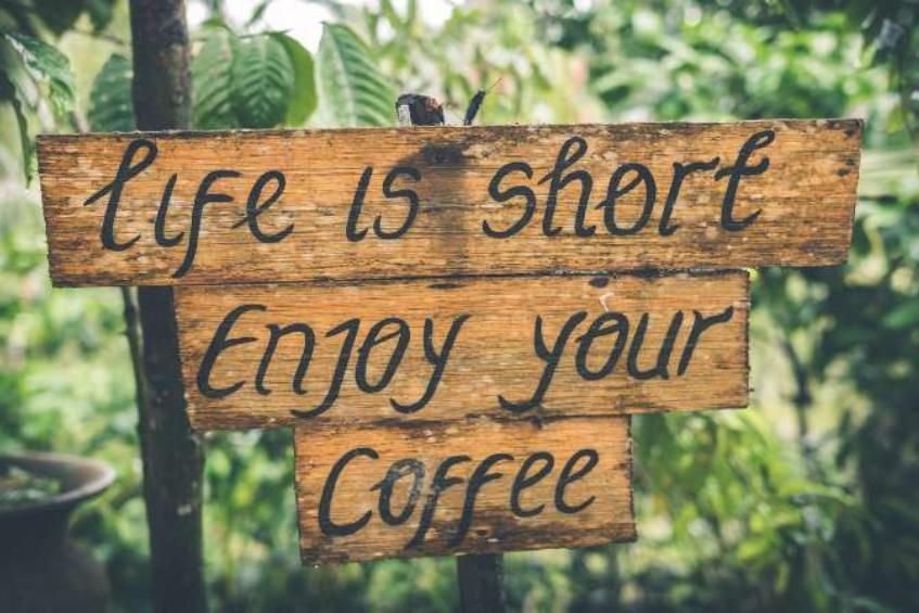 咖啡不只是浪漫事
